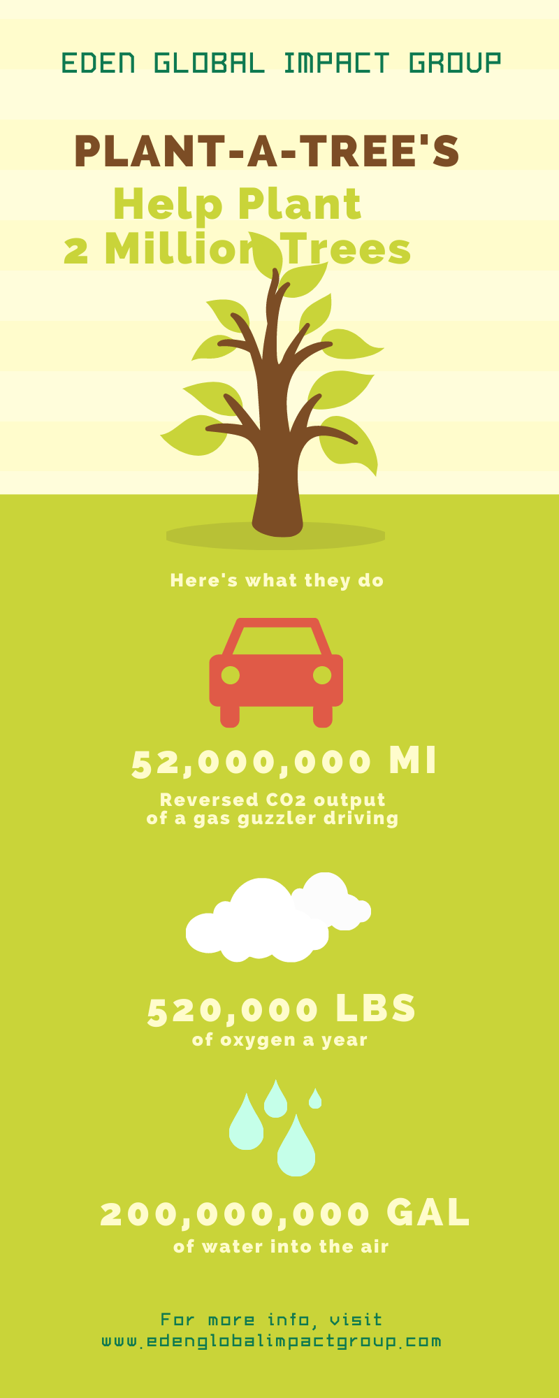 Tree Planting Infographic